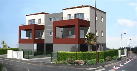 bureau de logement résidence de 4 logements architecture et maître d 39 œuvre