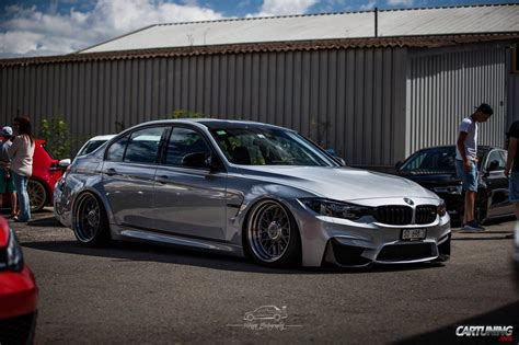 bmw stanced stanced bmw m3 f80 with rotiform