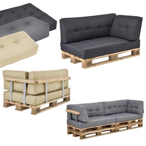 canapé en palette avec dossier en casa coussin d assise de dossier d angle avec