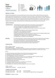 Payroll Assistant Cover Letter Office Administrator Resume Exles Cv Sles Templates Duties Administrative Assistant