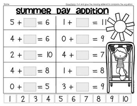 46 Best Images About Summer Work For Kids On Pinterest