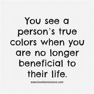 A person's true colors life quotes life life lessons ...