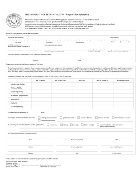 Ut Application Resume by The Of At Application Form Free