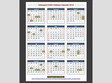 Telangana India Public Holidays 2015 – Holidays Tracker