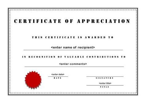 certificate of appreciation for sponsorship template certificates of appreciation 003