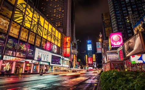 broadway  york city widescreen wallpaper wide