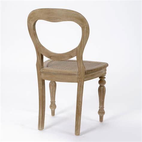 chaises de salle a manger chaise de salle à manger en bois lot de 2 versailles