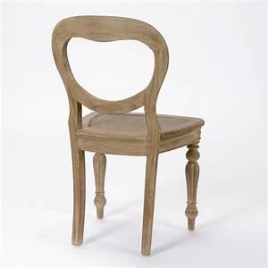 Chaise de salle a manger en bois lot de 2 versailles for Salle À manger contemporaineavec lot chaises