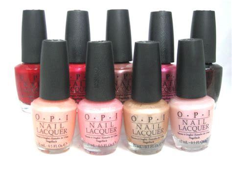 Opi Nail Polish Colors List
