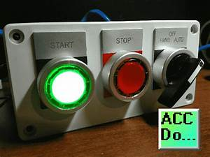 Wiring Push Buttons And Selector Switch To Click Plc