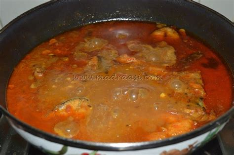 tamil cuisine fish curry is delicious in tamil cuisine with mild