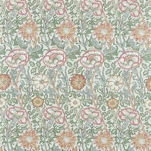 Pink Rose Fabric Eggshell Rose 222532 William