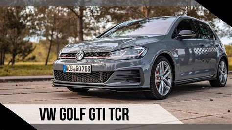 Vw Golf 7 Gti Tcr Test by Volkswagen Vw Golf Gti Tcr 2019 Test Review