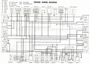 650 Yamaha Motorcycle Wiring Diagram