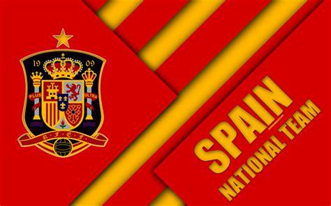 Download Wallpapers Spain National Football Team, 4k