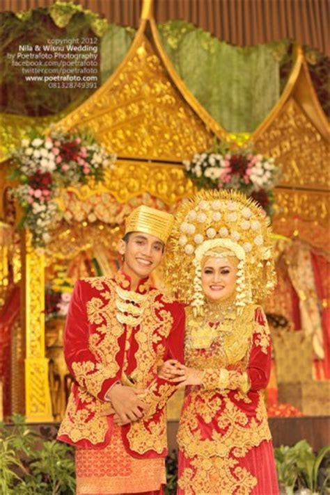 foto pernikahan adat padang minangkabau wedding ceremony