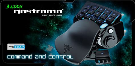 Razer Introduce Their New Nostromo Gamepad