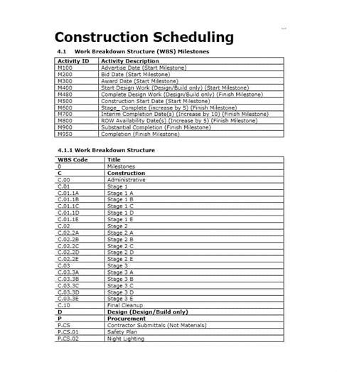 Timetable Templates 21 Free Word Pdf Excel Templates 21 Construction Schedule Templates In Word Excel