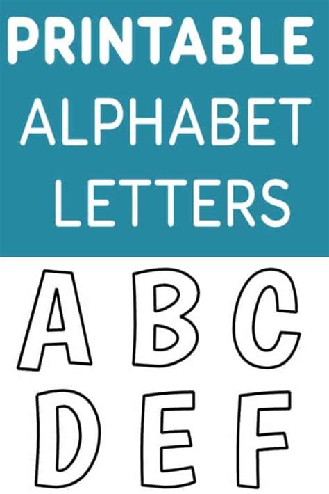 Alphabet Letter Templates For Teachers by Printable Free Alphabet Templates