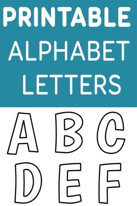 free printable alphabet stencils templates printable free alphabet templates