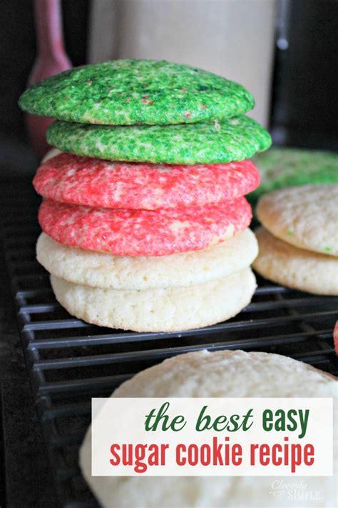 Easy Sugar Cookies Recipe — Dishmaps