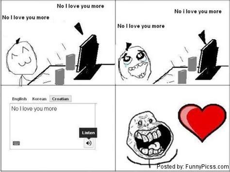 No Meme Tumblr - no i love you more comics funny pictures funny pics