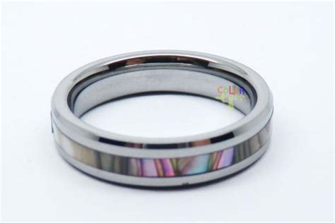 New Matching Tungsten Carbide Ring Set Men Lady Wedding