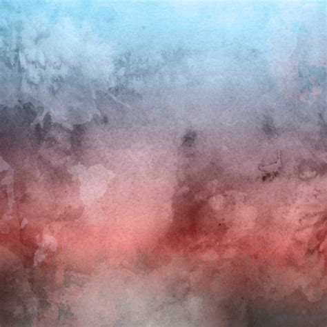 Watercolor texture with different colors Vector Free