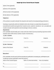 pre primary school teacher resume sample - how to make a good teacher resume template