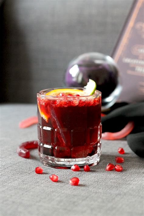 delicious diy halloween cocktails  adults shelterness