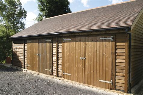Double Garage : Warwick Garage, Timber Garages