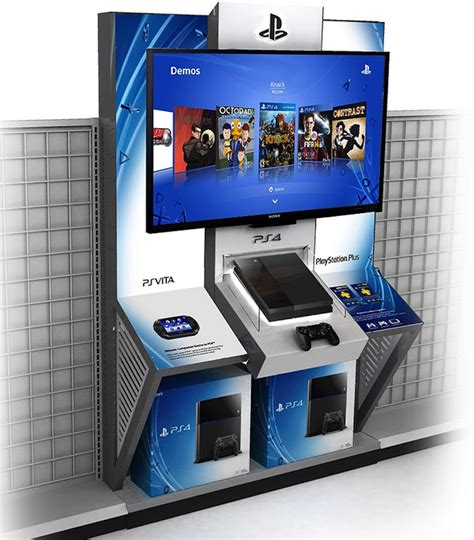 Playstation 4 Kiosks Spreading Throughout American