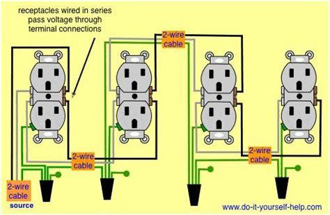 Wiring Diagram Receptacles Series Electrical