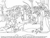 Paintings Seurat Sunday Coloring Famous Georges Colorare Afternoon Jatte Arte Grande Disegni Colouring Happyfamilyart Opere Happy Cuadros Outline 1884 Masterpieces sketch template