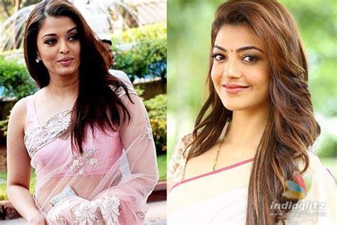 kajal agarwal replaces aishwarya bachan in new tamil