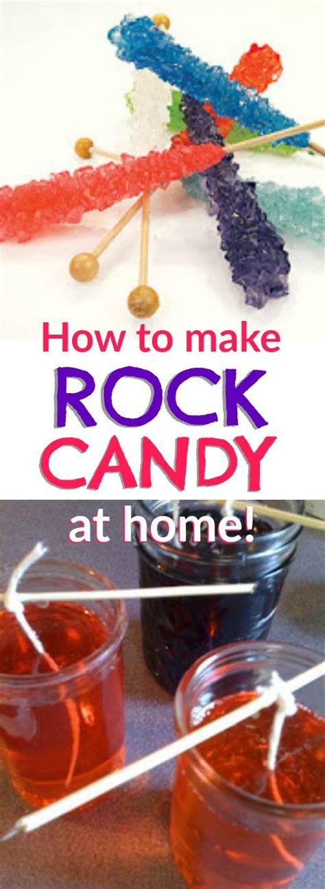 how to make rock fun edible science project learn how to make your own rock candy