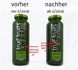 True Fruits Green Smoothie  Spinat  U0026 Gr U00fcnkohl   Matcha