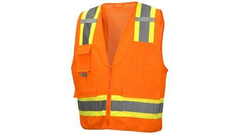 Class 2 Hi-vis Orange Safety Vest