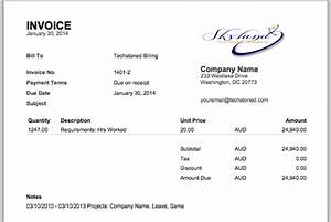 invoices official weworked blog With invoice with company logo