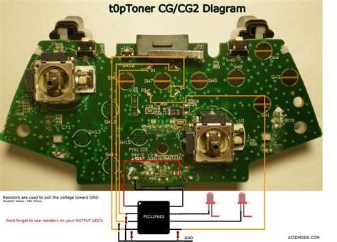 Xbox Controller Wire Diagram Webtor