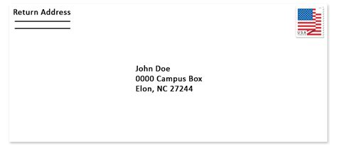 elon university mail services   address