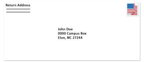 elon university mail services   address