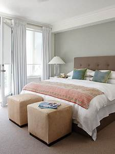 Taupe, Tufted, Headboard, -, Transitional, -, Bedroom