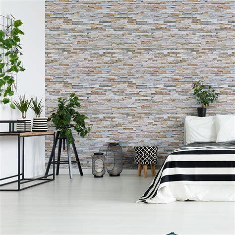 papier peint parement sticker papier peint parement de pierres de l h 233 rault salon design ambiance sticker
