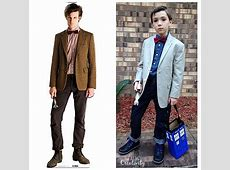 DIY Eleventh Doctor Dr Who Costume and Tardis Candy Box