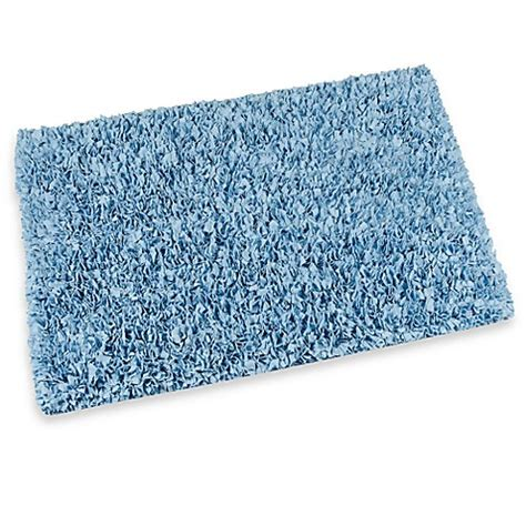 light blue bathroom rugs buy light blue raggy shaggy accent rug 24 inch x 48 inch
