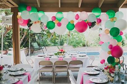 Shower Tropical Bridal Diy Balloon Inspired Floral