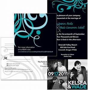 events weddings brittany hunt graphic design portfolio With 3 piece wedding invitations
