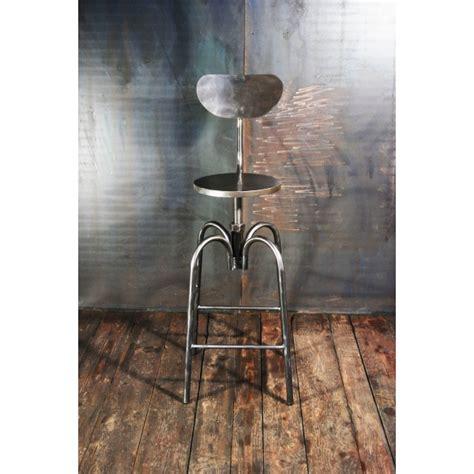 tabouret bar industriel chaises haute tabouret d architecte acier meubles atelier vintage