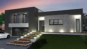 accueil With idee terrasse exterieure contemporaine 1 maison contemporaine blanche avec un interieur design